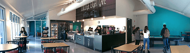 The Rachel Carson College Cafe